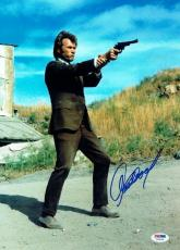 Clint Eastwood Signed Dirty Harry Authentic 10x14 Photo PSA/DNA #V08230