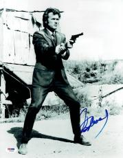 Clint Eastwood Signed Dirty Harry Authentic 11x14 Photo PSA/DNA #I36140