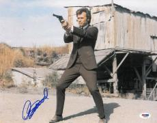 Clint Eastwood Signed Dirty Harry Authentic 11x14 Photo (PSA/DNA) #Q43941