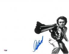 Clint Eastwood Signed Dirty Harry Authentic 11x14 Photo (PSA/DNA) #Q43958