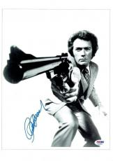 Clint Eastwood Signed Dirty Harry Authentic Auto 10x14 Photo PSA/DNA #I11689