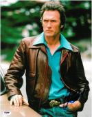 Clint Eastwood Signed Dirty Harry Autographed 11x14 Photo PSA/DNA #X00209