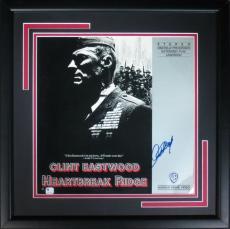 Clint Eastwood Signed Framed Heartbreak Ridge Laser Disc Cover PSA/DNA #J66382