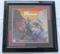 Clint Eastwood Signed Framed 'The Gauntlet' Laser Disc Cover (PSA/DNA) #J66381