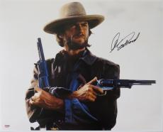 Clint Eastwood Signed Josey Wales Autographed 16x20 Photo PSA/DNA #Z09506