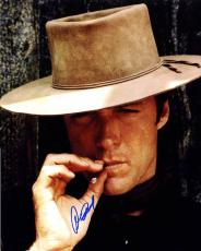 Clint Eastwood Signed Man With No Name 16X20 Poster Photo UACC RD AFTAL COA