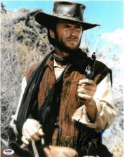 Clint Eastwood Signed Rawhide Unforgiven Autographed 11x14 Photo PSA/DNA #X00202