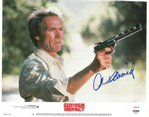 Clint Eastwood Signed Sudden Impact Autographed 11x14 Lobby Card PSA/DNA #V08232