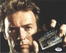 Clint Eastwood The Enforcer Autographed Signed 8x10 Photo PSA/DNA COA AFTAL