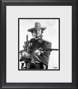 "Clint Eastwood The Good, the Bad and the Ugly Framed 8"" x 10"" Holding Guns Photograph"