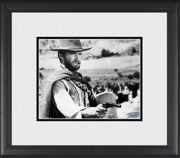 """Clint Eastwood The Good, the Bad and the Ugly Framed 8"""" x 10"""" Photograph"""