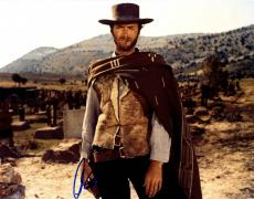 Clint Eastwood The Good The Bad The Ulgly Signed 11x14 Photo UACC RD COA AFTAL