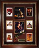 Clint Eastwood Autographed Westerns Tribute Framed Display