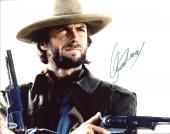 Clint Eastwood The Outlaw Josey Wales Signed 11X14 Photo BAS #A80429