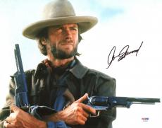 Clint Eastwood The Outlaw Josey Wales Signed 11X14 Photo PSA #X03493