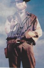"""CLINT EASTWOOD - WESTERN FILMS Include """"HANG'EM HIGH"""", """"THE OUTLAW JOSEY WALES"""", and """"PALE RIDER"""" Signed 4x6 Color Photo"""