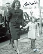 Clint Hill JFK Assassination Secret Service Agent Signed 8x10 Photo BAS #B04385