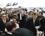 Clint Hill John F Kennedy JFK Signed Autograph 8x10 Photo PSA/DNA COA (A)