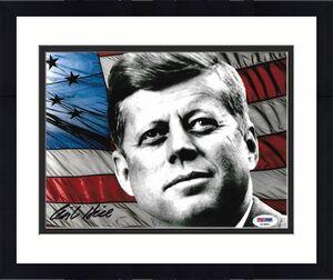 Clint Hill John F Kennedy JFK Signed Autograph 8x10 Photo PSA/DNA COA (G)