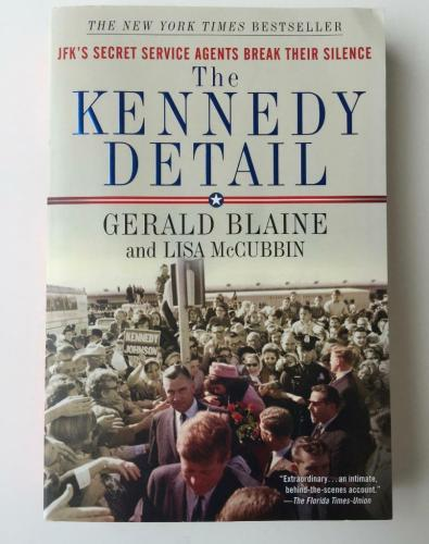 "CLINT HILL   & LISA McCUBBIN Signed Paperback Book ""The Kennedy Detail"" JSA"