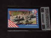 Clint Hill Secret Service Jfk Assassination Autographed 1992 Card Cas Authentic