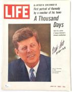 "CLINT HILL Signed ""11-22-63"" July 16, 1965 Life Magazine JSA"