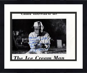 Clint Howard Autographed Signed The Ice Cream Man Photo    AFTAL