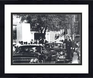Secret Service Chief with President John Kennedy/'s new limousine New 8x10 Photo