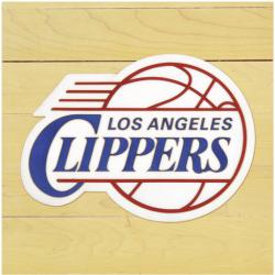 "NBA Los Angeles Clippers 12"" x 12"" Logo Floor Piece"