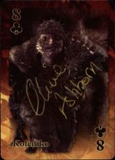 Clive Ashborn Pirates Of The Caribbean Signed Playing Card Koleniko Id #31994