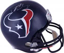 Jadeveon Clowney Houston Texans 2014 NFL Draft Pick #1 Pick Autographed Riddell Replica Helmet - Mounted Memories