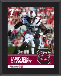 "Jadeveon Clowney South Carolina Gamecocks Sublimated 10.5"" x 13"" Plaque"