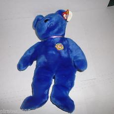 Clubby The Bear Ty Beanie Buddy Baby Plush Stuffed Animal