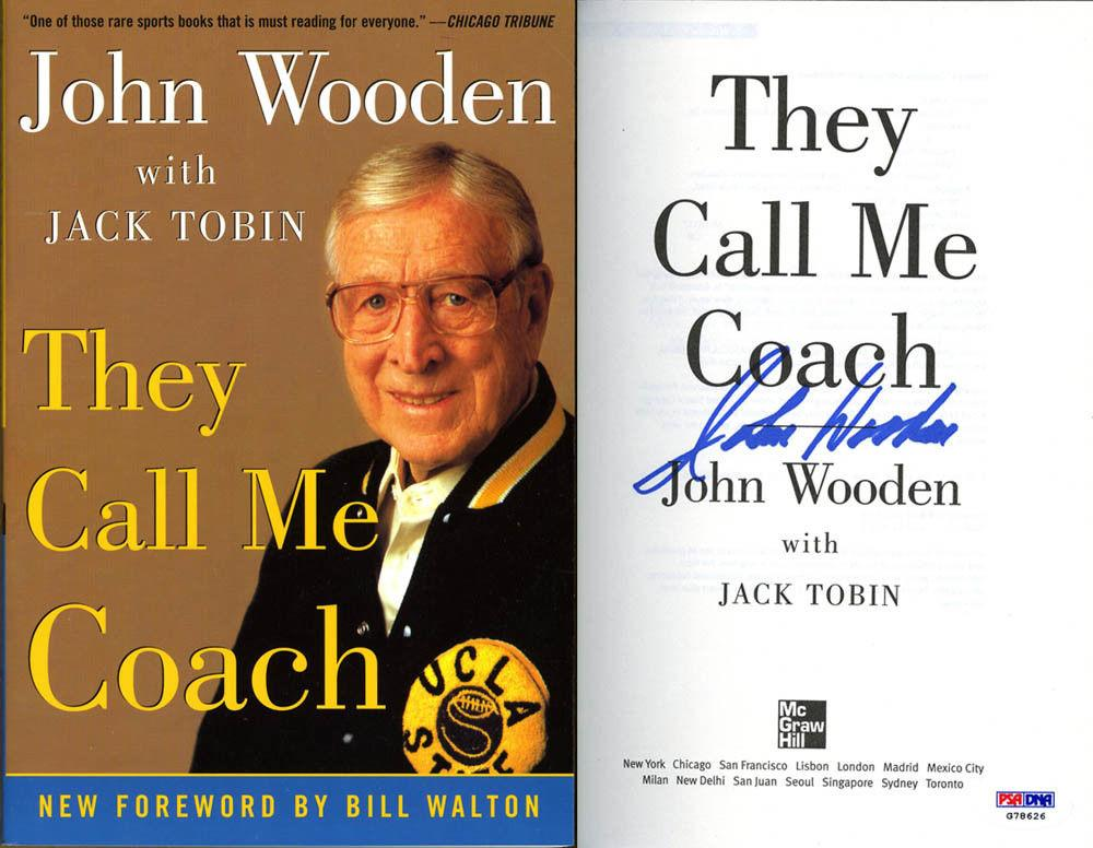 a summary of the book they call me coach john wooden 25 lessons learned from john wooden they call me coach the essential wooden: another outstanding summary of a great thinker.