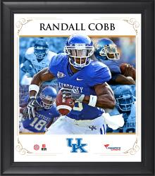 Randall Cobb Kentucky Wildcats Framed 15'' x 17'' Core Composite Photograph