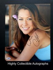 Colbie Caillat Signed 11x14 Photo Autograph Psa Dna Coa