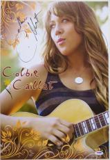 Colbie Caillat Signed Authentic Autographed 13x19 Photo (PSA/DNA) #I11760