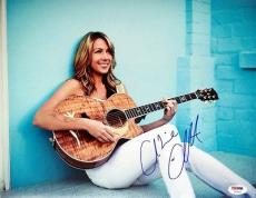 COLBIE CAILLAT SIGNED AUTOGRAPHED 11x14 PHOTO VERY RARE PSA/DNA