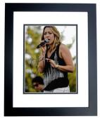 Colbie Caillat Signed - Autographed Pop Singer Concert 8x10 inch Photo BLACK CUSTOM FRAME - Guaranteed to pass PSA or JSA