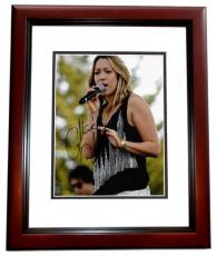 Colbie Caillat Signed - Autographed Pop Singer Concert 8x10 Photo MAHOGANY CUSTOM FRAME