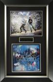 Coldplay Signed Paradise Album Flat Framed Display