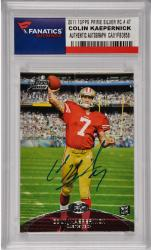 Colin Kaepernick San Francisco 49ers Autographed 2011 Topps Prime Silver Rookie #47 Card