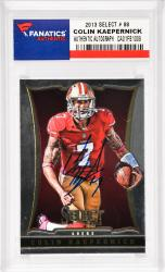 Colin Kaepernick San Francisco 49ers Autographed 2013 Select #88 Card