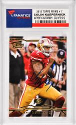 Colin Kaepernick San Francisco 49ers Autographed 2013 Topps Prime #7 Card