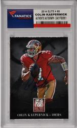 Colin Kaepernick  San Francisco 49ers Autographed 2014 Elite #80 Card