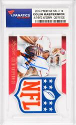 Colin Kaepernick San Francisco 49ers Autographed 2014 Prestige NFL #12 Card