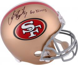 Colin Kaepernick San Francisco 49ers Autographed Full Size Replica Helmet with Go Niners Inscription
