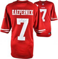 Colin Kaepernick San Francisco 49ers Autographed Nike Scarlet Limited Jersey