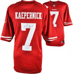 Colin Kaepernick San Francisco 49ers Autographed Nike Scarlet Limited Jersey