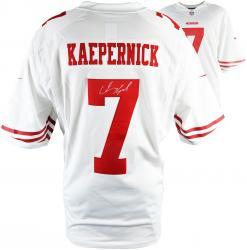 Colin Kaepernick San Francisco 49ers Autographed Nike White Limited Jersey